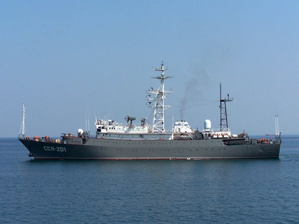"Average intelligence ship Black Sea Fleet ""Sea of ​​Azov"" Project 864"