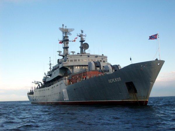 """Учебный корабль """"Перекоп"""" проекта 887"""