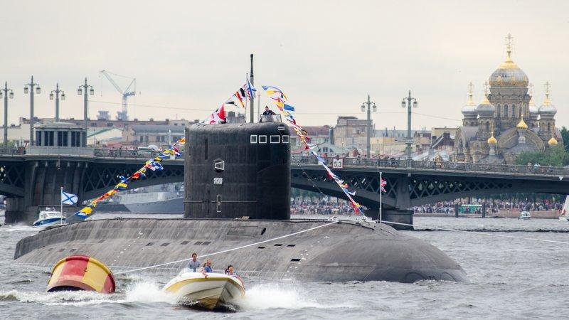 """Дизель-электрическая подводная лодка проекта 636.3 """"Краснодар"""""""
