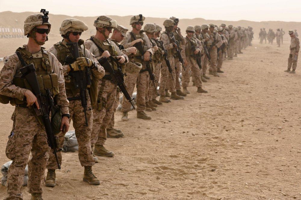 США отозвали неменее 400 морских пехотинцев изСирии