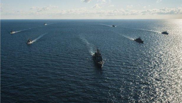 Отряд кораблей стран НАТО