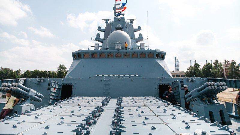 """Фрегат """"Адмирал Горшков"""" (пр. 22350)"""